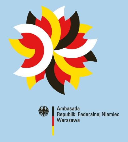 logotype for the German Embassy Warsaw by DESIGNERDEUTSCH — © Michael Okraj DESIGNERDEUTSCH