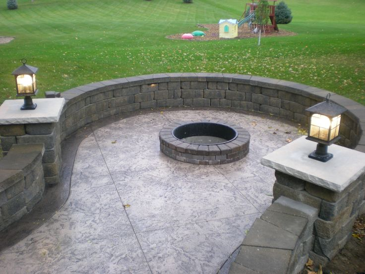 Best 25+ Cool Fire Pits Ideas On Pinterest