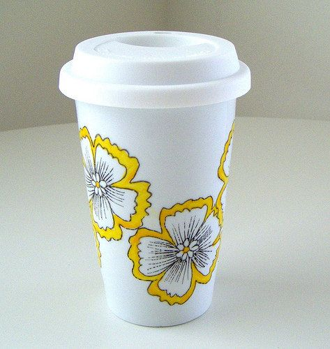 17 best images about painting ceramic ideas on pinterest for How to paint ceramic mugs at home
