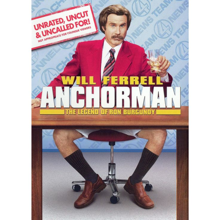 Anchorman: The Legend of Ron Burgundy (P&s) (Unrated, Uncut & Uncalled For!) (dvd_video)