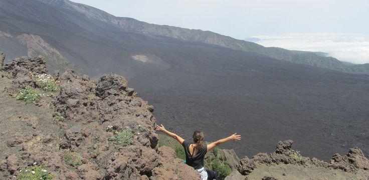 Vulcão Etna cratera - Italiana Blog