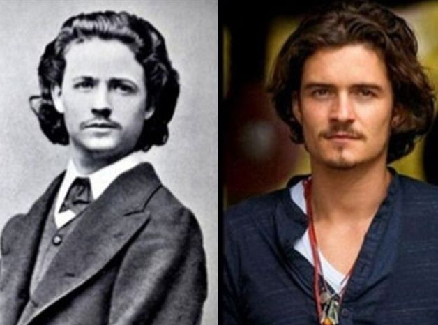 Orlando Bloom and Nicolae Grigorescu  More Celebrities Who Might Be Time Travelers 10 - https://www.facebook.com/diplyofficial
