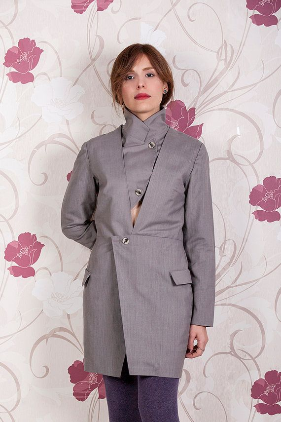 Elegant High-fashion Coat by ChaSho on Etsy