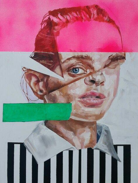 Cyclops,  oil on canvas,  2015. Nathan Vuuren.