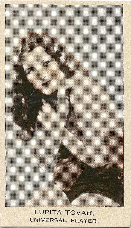 Stars of stage and screen. Lupita Tovar, Universal Player.