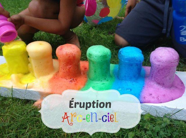 Une petite activité amusante et colorée à faire avec les enfants.