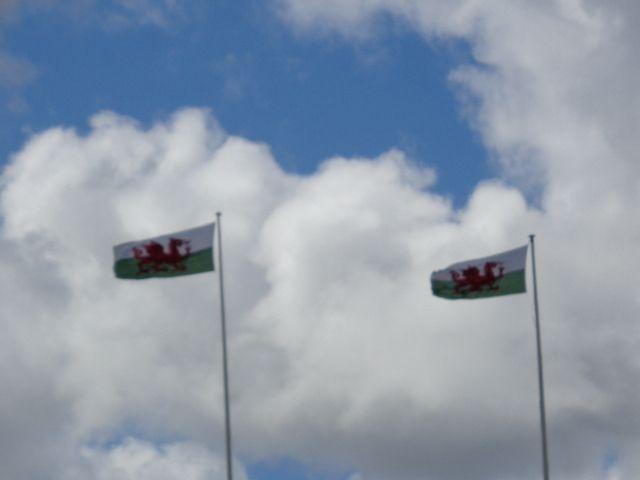 storm flag flying