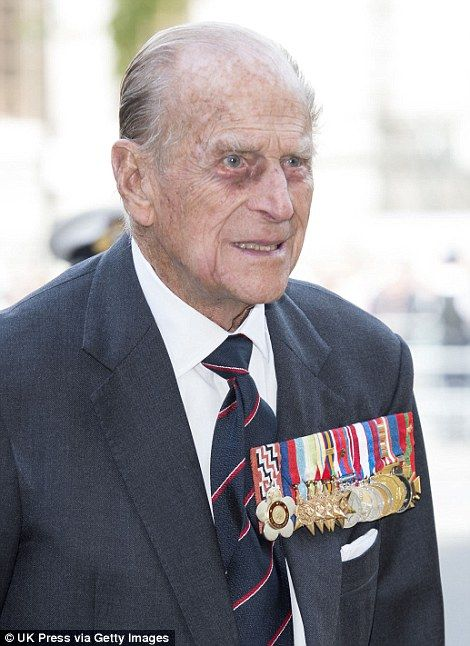 The Duke of Edinburgh attended the service to mvrk the 70th anniversary of VE Day. - 10 May 2015.