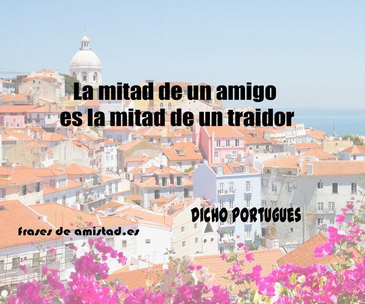 frases de amistad en portugues traducidas de Victor Hugo