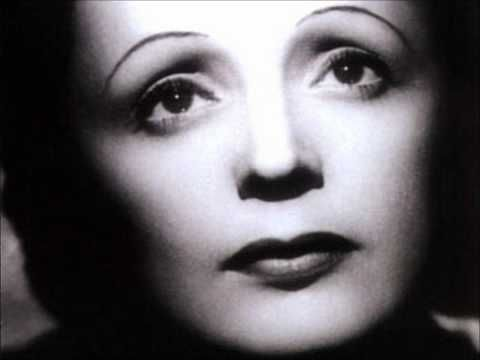 Edíth Píâf (1915-1963): 'Nôn, jé né regrétte ríén' (original) ~ Píâf dedicated her recording of the song to the French Foreign Legion during the Algerian War (1954-1962), and the 1st REP (1st Foreign Parachute Regiment; disbanded for supporting a putsch against the civilian leadership of Algeria) adopted the song. The song has now become part of the French Foreign Legion heritage, and is sung when they are on parade.
