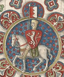 Simon de Montfort, 6th Earl of Leicester, 1st Earl of Chester, also called Simon de Munford, was an Anglo-Norman nobleman. He led the barons' rebellion against King Henry III of England during the Second Barons' War of 1263–4, and subsequently became de facto ruler of England.  During his rule, de Montfort called the first directly elected parliament in medieval Europe. For this reason, de Montfort is regarded today as one of the progenitors of modern parliamentary democracy.
