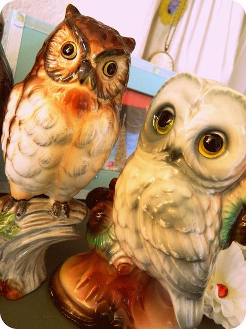 Vintage Owls by Garboodles Soup, via Flickr
