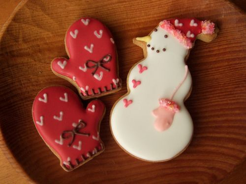 Christmas cookie designs from   grue * press