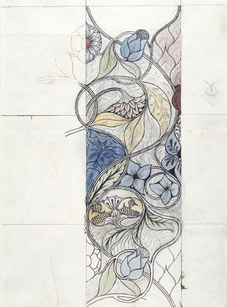 ARTS AND CRAFTS DO ON CHIFFON Embroidery design | Morris, May | V&A Search the Collections