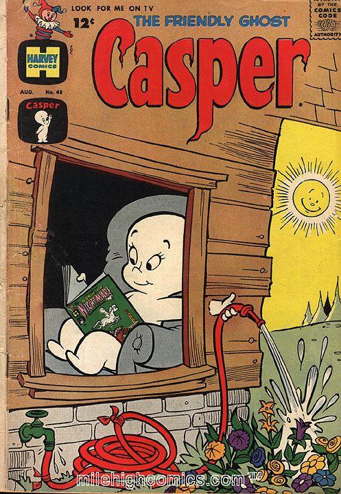 Casper comic books