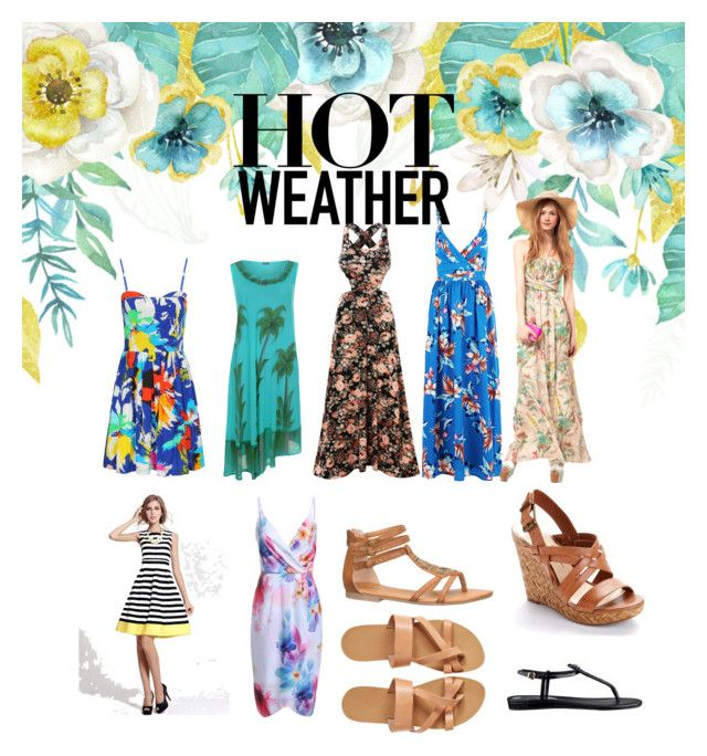 Summer by veka1915 on Polyvore featuring Mela Loves London, Jessica Simpson, GUESS and maurices