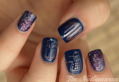 Doctor Who - NailsNails Art, Doctors Who Art, Art Blog, Nailart, Wedding Nails, Doctorwho, Doctors Who Nails, Doctor Who Nails, Dr. Who