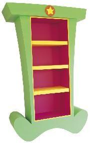 The Original Cartoon Furniture Whimsical Bookcase Dr