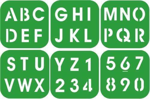 Pochoir Alphabet A Imprimer Gratuit