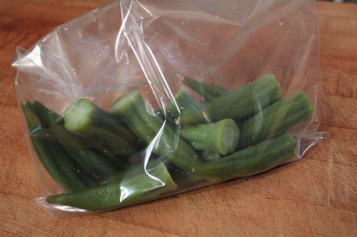 How To Freeze Okra Okra Food And Veggies