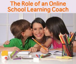 """The Role of Parent vs. That of Online Learning Coach"" on Virtual Learning Connections http://www.connectionsacademy.com/blog/posts/2011-11-22/The-Role-of-Parent-vs-That-of-Online-Learning-Coach.aspx #virtualschool #homeschool #parenting"