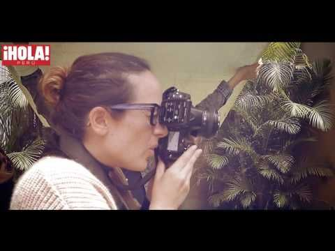 Making Of Jesus Alzamora & Maria Paz Revista ¡HOLA! Perú - YouTube