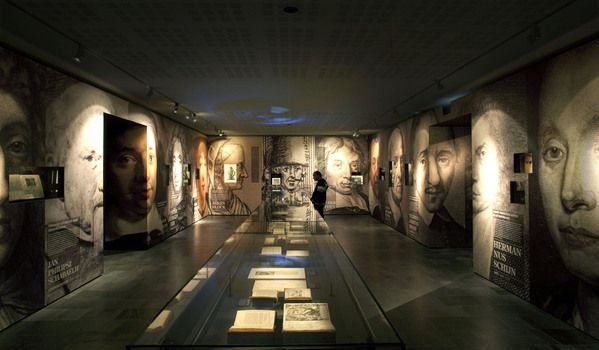 Exhibition Stand Display Ideas : Interesting museum design and layout by caspar conijn the