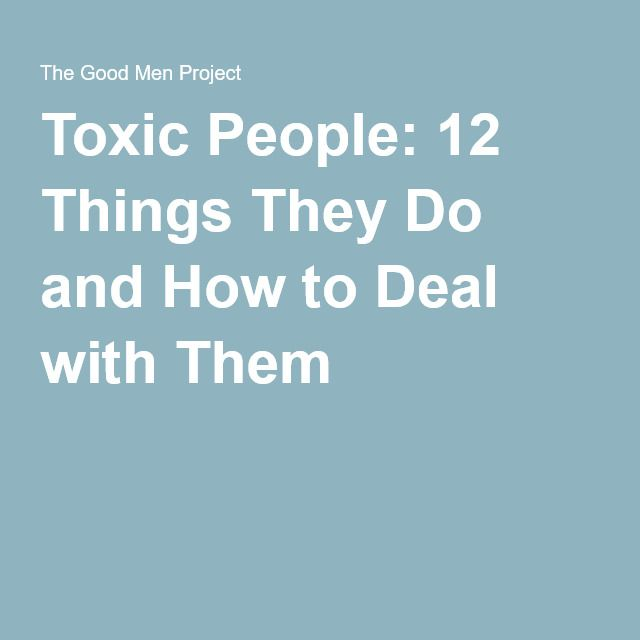 toxic people practical powerful ways deal with them