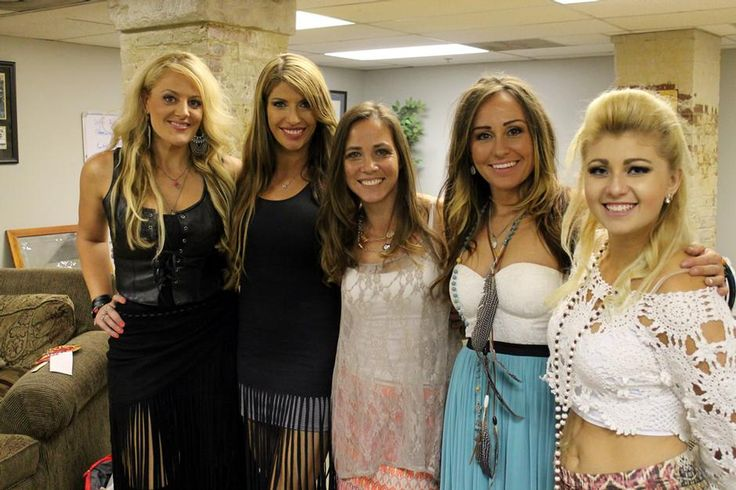 The Highway Women at Country Music Awards fest in 2016
