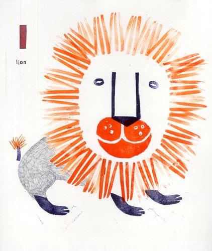 From A,E,I,O,U prints by Chiara Armellini 2010 (via animalarium)