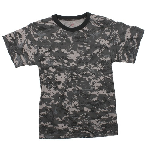 Subdued Urban Digital Camo T-Shirt
