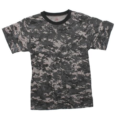 Subdued Urban Digital Camo T-Shirt