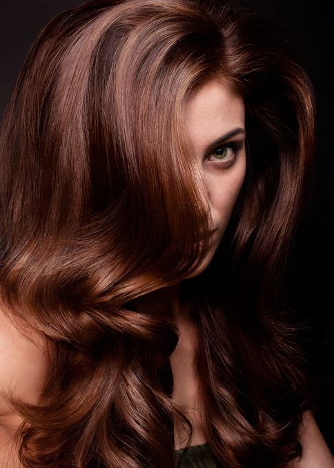 this color was achieved using the Ammonia-Free INOA hair color by Loreal