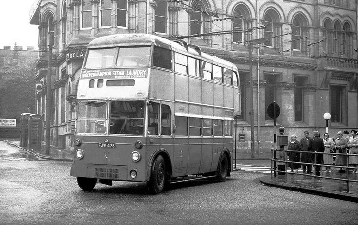1949 Sunbeam-BTH/ Park Royal - Wolverhampton 478