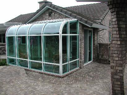 Curved Sunroom Sunroom Kits Solarium Room Patio Enclosures