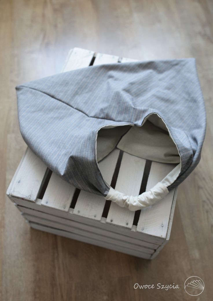 #owoceszycia Torebka trójkątna | origami bag handmade