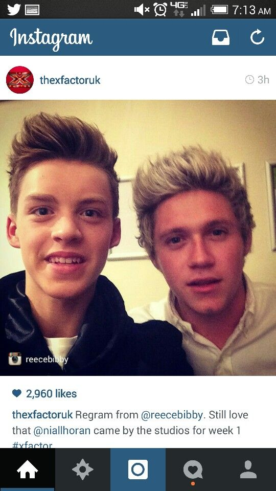 A dude from X Factor group Stereo Kicks with Nialler