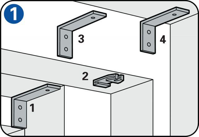 Colgar una barra para una cortina - Elegir el lugar adecuado
