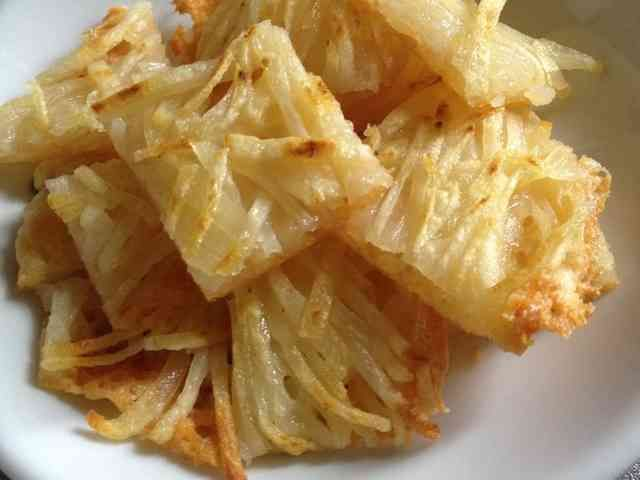 超簡単♪♪ポテトとチーズのカリカリ焼き☆の画像