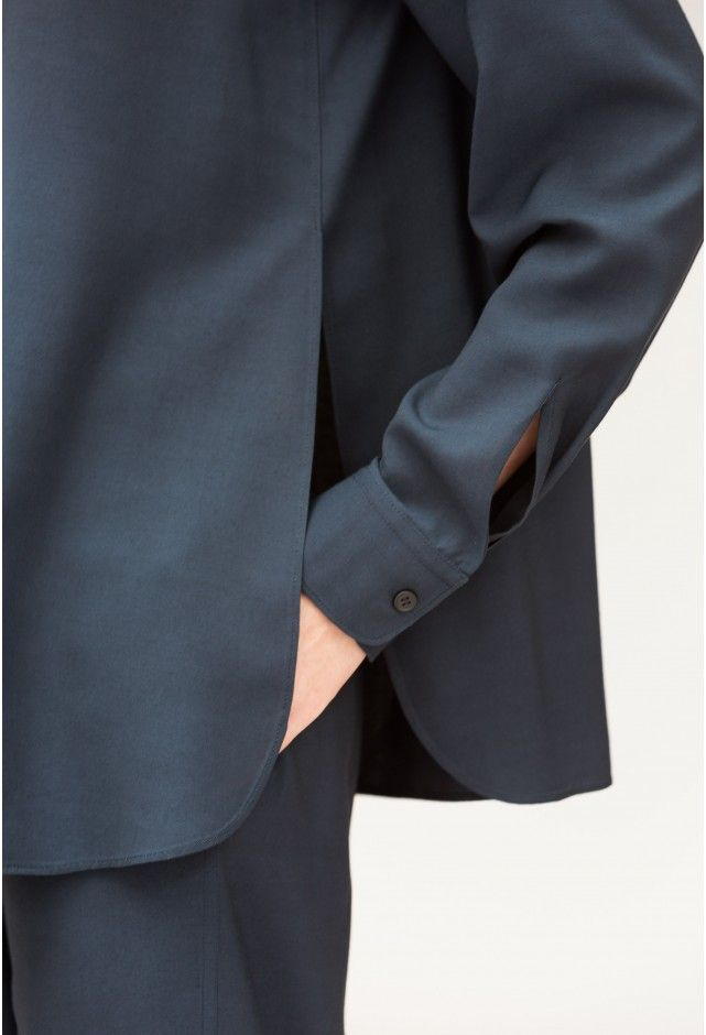 chemise croisée