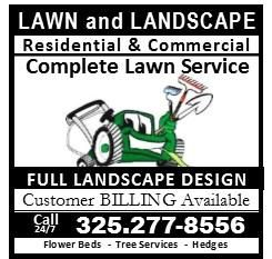 Landscape/Lawn Services Your full lawn service company:  mowing, trimming, leaf removal, bed clean-outs, hedge trimming, lawn treatments (feed, pre-emergents, pest control),