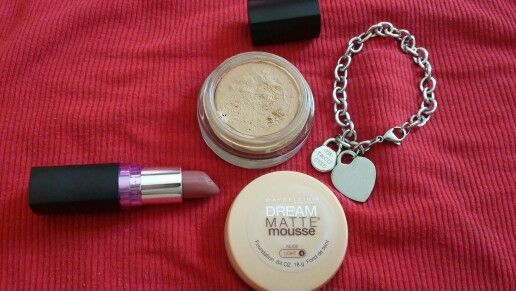 MAYBELLINE  MATTE  MOUSSE  FOUNDATION  in  Nude  light 4 / yellow  undertone. My First  time  to  used  mousse  type  foundation  and  yay !  ! Love love  love it. It glides on to my skin,  super  easy  to apply, feels  very  light,  like  you  don't  wear  anything. Light  to  medium  coverage, best for  everyday use. Currently  my holy grail foundation❤