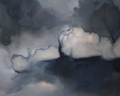 Lucky HemlockClouds Painting, Philip Wolfhagen Clouds, White Clouds