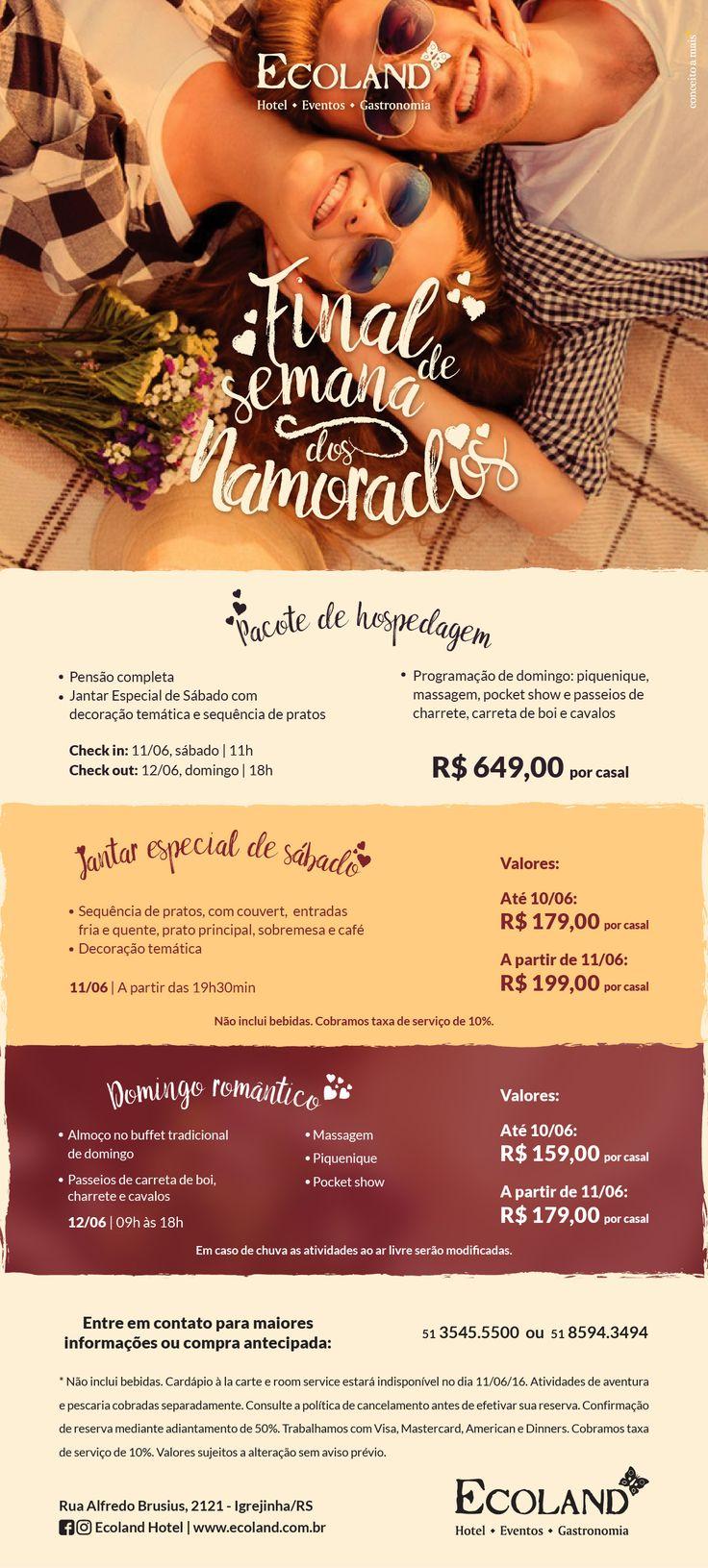 Campanha desenvolvida pela Agência Conceito para o Ecoland Hotel de Igrejinha/RS