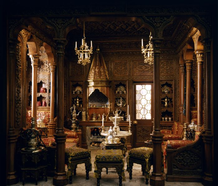 Dollhouse Miniatures Chicago: Miniature, Miniature Rooms And Ottomans On Pinterest