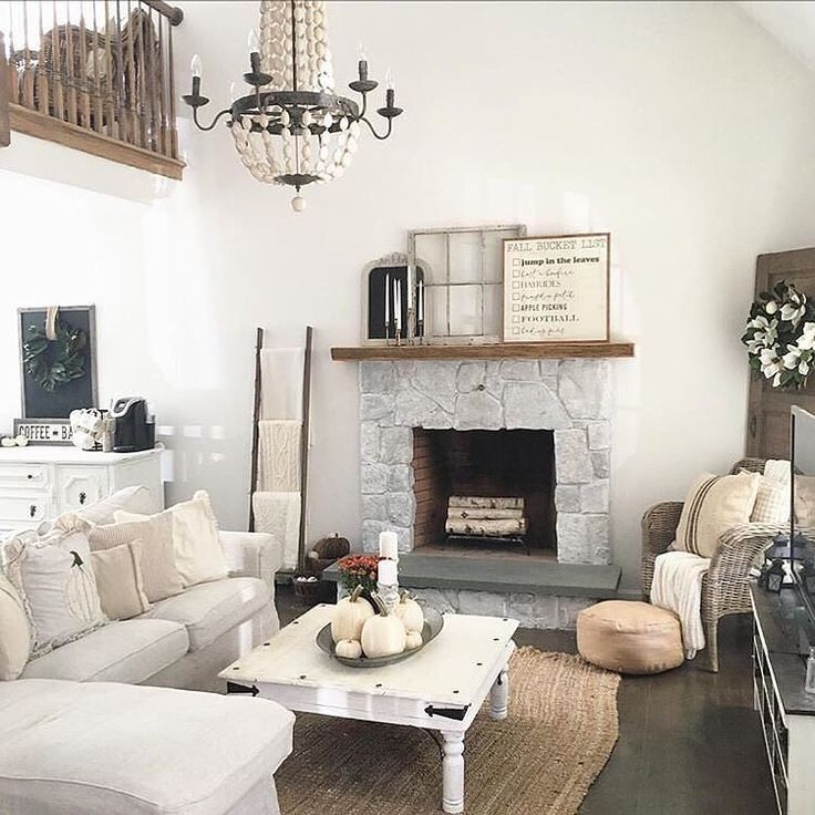 We love how the Addington Candle-Style Chandelier ties this whole living room together! This classic piece adds the perfect amount of elegance and charm to this space. Shop this unique chandelier now at the link in our bio. Thanks for sharing @thelittlewhitefarmhouse #mybirchlane