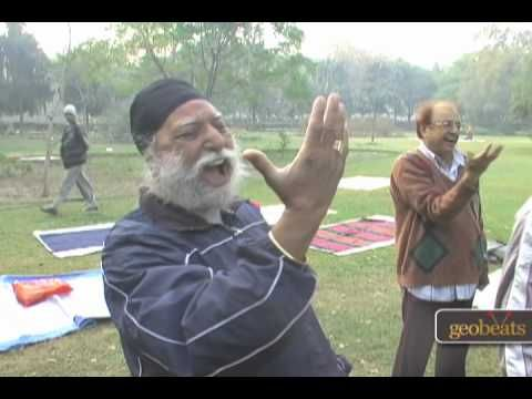Laughter Yoga (New Delhi, India). This makes me laugh out loud. Great!