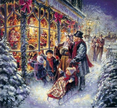 Stewart Sherwood - Victorian Christmas I always wanted to have the little Victorian Christmas Village