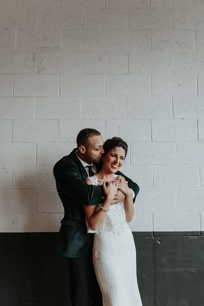 We adore the cute couple from this wedding at Union/Pine| Image by Olivia Strohm Photography