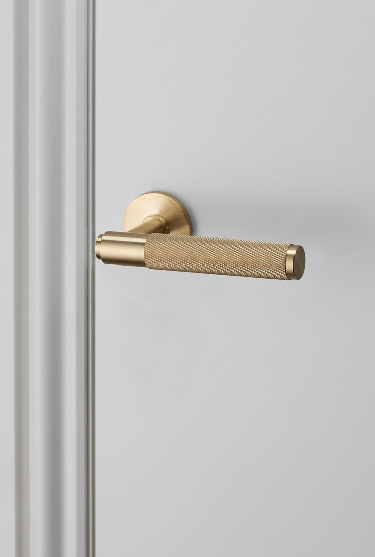 DOOR LEVER HANDLE / BRASS by Buster + Punch